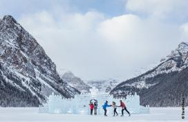 A little magic on ice in the Canadian Rockies