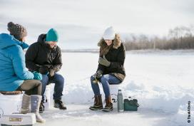 Join the Canadian ice fishing tradition