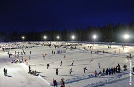 Watch pond hockey in New Brunswick
