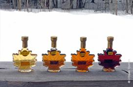 Varieties of maple syrup