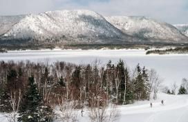 Cross country skiing, Cape Breton Island