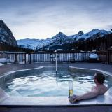 Hot tube at Deer Lodge - Credit Ben Girardi