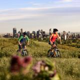 Nose Hill Park and view to Calgary Skyline - Credit Travel Alberta