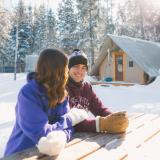 oTENTik Winter-Glamping im Riding Mountain National Park (Foto: Clear Lake Country)